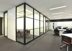「ガラス オフィス 間仕切り」の画像検索結果