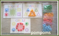 Shapes Bowling: Get a bowling set, add Velcro to each pin and cut out of construction paper the shapes that you working on( add Velcro. Preschool Activities, Preschool Teachers, Farm Theme, Construction Paper, Ell, Bowling, Shapes, Math, Frame