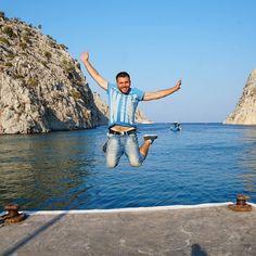 Βαθύ Καλυμνος!! #happytraveller #kalymnos #vathi #greece #visitgreece #traveller #travel #explore #jump #visitgreece  Photo by @electraasteri