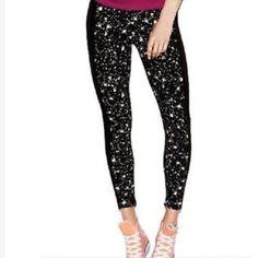 New Victoria's Secret PINK Galaxy Leggings - Large Brand new! PINK Victoria's Secret Pants Leggings