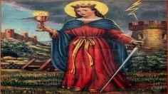 Oración a Santa Bárbara para lograr un favor imposible