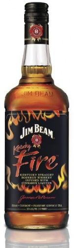 Jim Beam Kentucky Fire cinnamon-infused bourbon. It is delicious cinnamony goodness