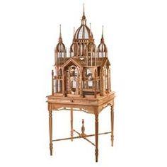 Teak Wood Basilica Birdhouse