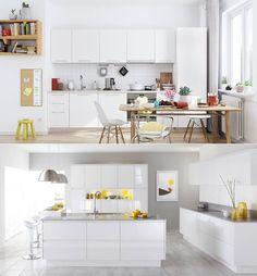 Follow our Instagram! https://www.instagram.com/minimal.interiors.designs/ Source: ideallists https://ideallists.tumblr.com/post/158657299098/via-30-modern-white-kitchens-that-exemplify
