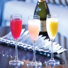 Sunday Brunch included non-alcoholic beverages as well as Phoenician Bellinis.