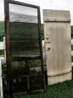 Screen door and barn door