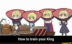 How to train your king :3