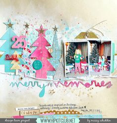 Christmas is just around the corner and we know you are anticipating documenting your memories for this special occasion! To get your creative juices flowing, we're giving you 10 scrapbooking layouts you can use for inspiration. Purchase your own holiday paper or use paper from our scrapbook kits! 1. Although the scrapbooking layout below is not specificRead more