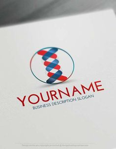 Make online DNA Logo Maker Design your own medical logo with our free logo creator. Create a Logo with our Free Logo Maker