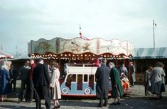 Colour pictures of Blackheath Fair, London — Retronaut Industrial Lighting, Vintage Colors, Colorful Pictures, Steel Frame, Lighting Design, 1950s, Colours, London, Lost