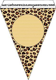 Leopard Print Printable Party Kit
