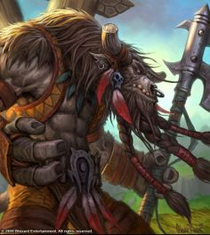 Races of Wow / Warcraft - Tauren