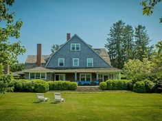 *Cloverly* This lovingly restored, turn of the century, Watch Hill home is set on 1.3 acres of private garden paradise