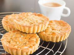 Almond paste topped with the sweetness and crunch of caramelized, glazed almond bits - Swedish Almond Tart simply delivers a luxurious taste of ALMOND in every bite!
