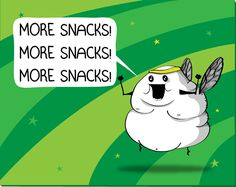 The Blerch - Large Refrigerator Magnet - The Oatmeal  http://theoatmeal.com/comics/running