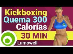 Rutina de Kick Boxing para Adelgazar y Eliminar Grasa Abdominal - YouTube
