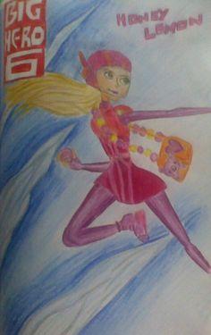 Big hero six!!!  Honey lemon.... she is awesome. Oh the movie! Can't wait! can't wait! can't wait!