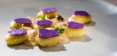 gnocchi di patate con crema al salmerino