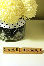 game night party decor and ideas