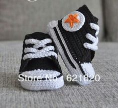 Sneakers Babe Casa For Per From Babies Picasso Crochet La Idee 6dTg6