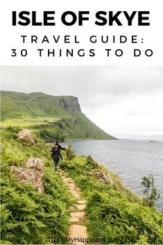 30 Things to Do on the Isle of Skye: A Travel Guide to Isle of Skye What to do on the Isle of Skye, Scotland: where to go, where to eat, where to stay, and tips for visiting Isle of Skye with kids Scotland Travel Guide, Scotland Road Trip, Scotland Vacation, Ireland Travel, Camping Scotland, Visiting Scotland, Instagram Inspiration, Travel Inspiration, Isle Of Skye Accommodation