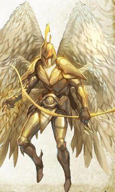 Solar angel - Electryon