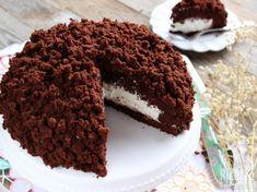 Torta mimosa Nutella e mascarpone Chocolate Almond Cake, Almond Cakes, Chocolate Desserts, Pastry Recipes, Dessert Recipes, Torte Cake, Eat Dessert First, Cakes And More, Desert Recipes
