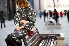 Dree Hemingway Mixes It Up With the Street-Style Crowd at Fashion Week Russia - Gallery - Style.com