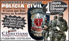 Professor Joselias - CONCURSOS PÚBLICOS: Preparatório especializado: Concursos da Polícia C...
