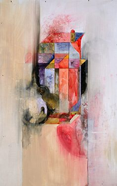 Take | Watercolor, acrylic and graphite on panel | 12x16 | 2011    Jacob van Loon