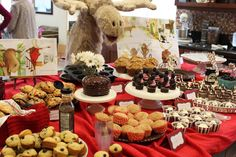 One of our favorite books; adorable If You Give A Moose A Muffin birthday party from @Daisy_Dreaming