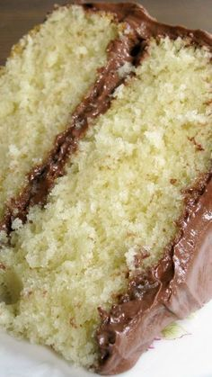 Old Fashioned Butter Cake ~ This fluffy, moist, easy-to-prepare cake recipe is a 100 year old treasure and a keeper... The recipe was discovered in an old McCall's cookbook published in 1910