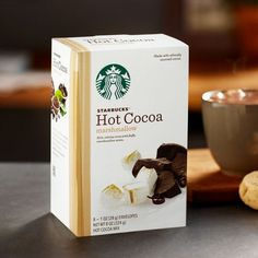 OFF Starbucks Hot Cocoa Marshmallow 224 g ( 8 x 28 gram envelopes) Starbucks Store, Starbucks Coffee, Hot Cocoa Mixes, Hot Chocolate Mix, Mini Marshmallows, As You Like, Drinking Tea, Cravings, Sweet Tooth