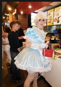 Crossdressed, Sissy Maids, French Maid, Maid Dress, Girly Outfits, Tgirls, Captions, Feminism, Going Out