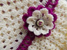 Flor # 8 para Vestido de dos Colores