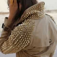 spiked sweater