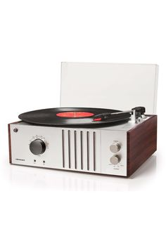 Crosley Player Turntable at Mako Haus | Don't need it...but I want it!