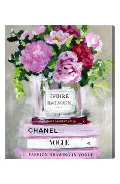 Check out the Oliver Gal Florale Canvas Wall Art from Nordstrom: http://shop.nordstrom.com/S/4630044