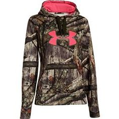 Mossy Oak Treestand Under Armour Womens Camo Big Logo Pullover - Gander Mountain Country Girl Style, Country Girls, My Style, Country Life, Western Style, Nike Under Armour, Under Armour Women, Under Armour Sweatshirts, Pullover Hoodie