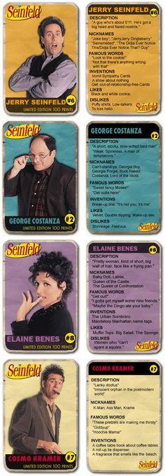 Seinfeld - Jerry, George, Elaine  Kramer