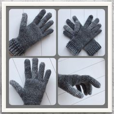 gratis haakpatroon handschoenen