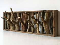 We've all got branches in our yards after the storm.  I'm thinking this would make a great coat rack.