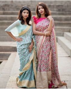 wedding season 15 Stunning Collar Neck Blouse Designs for all Seasons Saree Jacket Designs, Fancy Blouse Designs, Saree Blouse Patterns, Designer Blouse Patterns, Blouse Neck Designs, Design Patterns, Sari Blouse, Collar Blouse, Saree Styles