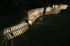 Image 16 of 17 from gallery of HelloWood 2012: Social Architecture in Hungary. HelloWood 2012: Moving bench © Márk Péter Vargha
