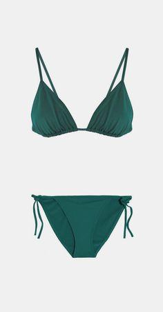 Les Essentiels Mouna triangle bikini top