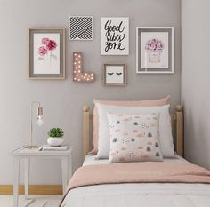 If you want to learn how to live like a minimalist, check out these ideas about minimalist bedroom decor, home decoration and living simple. Source by Dream Bedroom, Bedroom Wall, Girls Bedroom, Teen Bedroom Colors, Diy Home Decor Bedroom, Bedroom Furniture, Bedroom Ideas, Bedroom Designs, Bedroom Themes