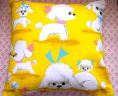 Pomme de Jour Vintage Fabric Cushion Cover  1960s by Pommedejour