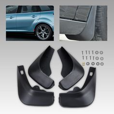 Dwcx Car Auto Accessories Mud Flaps Splash Guards Mudguard For Ford Focus Hatchback Mk Ii 2005 2006 2007 2008 2009 2010 Black Generate Great Features That