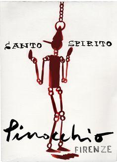 Daniele Costa per Santo Spirito Firenze.  #pinocchio