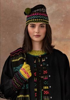Colourful Outfits, Colorful Clothes, Gudrun, Fall Winter, Autumn, Christmas Sweaters, Beanie, Seasons, Knitting
